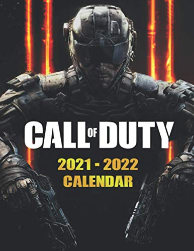 Call of Duty: 2021 – 2022 Games Calendar – 18 months – 8.5 x 11 Inch High Quality Images