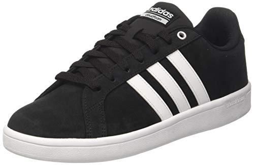adidas CF Advantage, Zapatillas para Hombre, Negro (Core Black/FTWR White/Matte Silver), 40 2/3 EU