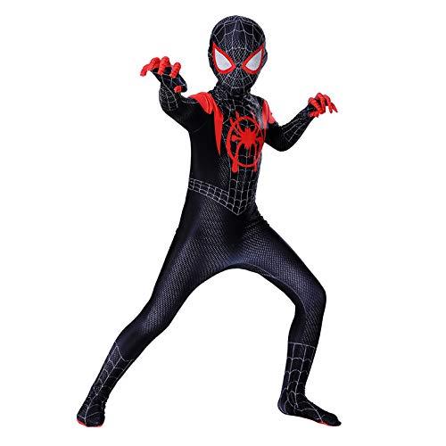 Gyman Spiderman Homecoming-Verkleidung, Kinder, Erwachsene, Anzug, Halloween, Karneval, Cosplay, Bodysuit für Party, Film, Kostüm, Requisiten, Einteiler-Kostüm
