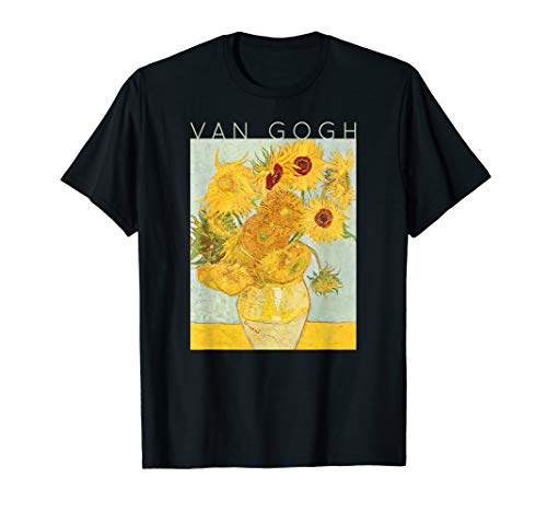 Van Gogh Sonnenblumen Coole Künstler Geschenke #8 T-Shirt