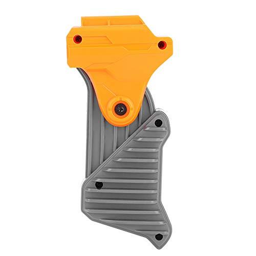 Demeras Tactical Universal Front Grip Vertical Foregrip Durable Plástico Universal Tactical Rail Plegable Fore Grip Mango para Pistola