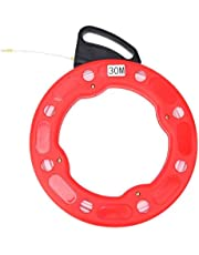 Niady Glasvezel Nylon Fish Tape Reel Puller niet-geleidende draad Uitdraaigereedschap 4.0mm 30m