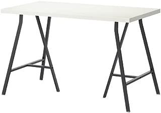 IKEA LINNMON/LERBERG Desk, Table (47 Inch, WhiteGray)
