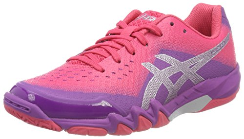 Asics Gel-Blade 6, Zapatillas de Deporte Interior para Mujer, Multicolor (Orchid/Prune/Rouge Red 3633), 41.5 EU
