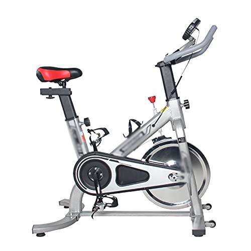 CJDM Bicicletas de Spinning, Equipos de Fitness para el hogar, Bicicletas estáticas silenciosas, Bicicletas estáticas para Interiores, gimnasios, Equipos de Fitness corporativos
