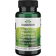 Swanson Spearmint Phenolic Complex w/Neumentix 450 Milligrams 60 Veg Capsules