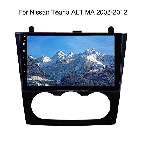 Nav Navegación GPS Navi para Nissan Teana Altima 2008-2012 con 9 pulgadas de pantalla táctil del dispositivo de navegación androide del coche con la música de Bluetooth 4g Wifi soporte para Sd 64g