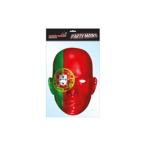 Masque en Carton portugal - Taille Unique