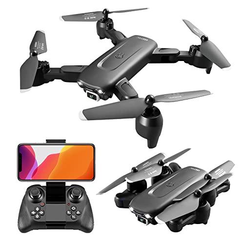 NONGLAN Rc Drone 6k Profesional HD Telecamera Grandangolare Rc Quadcopter WiFi FPV Mini Pieghevole Pieghevole Drone Bambino Giocattoli