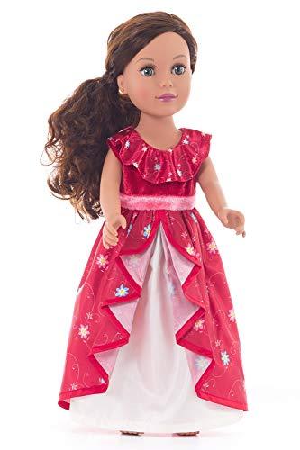 Little Adventures Ruby Princess Doll Dress