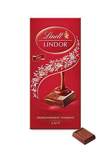 Lindt Chocolat au lait, fourré d'un suprême fondant - La tablette de 150g