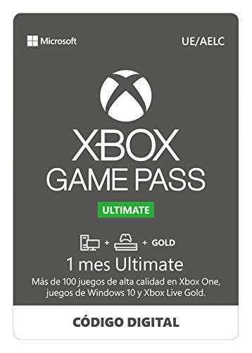 Suscripción Xbox Game Pass Ultimate - 1 Mes | Xbox One/Win 10 PC - Download Code