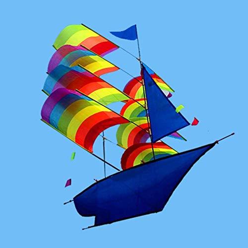 Forte e Robusto Aquilone, Bambini Kite Belle Aquiloni for Kids Facile da pilotare for la Spiaggia Esterna del Diamante 3D Scheletro Duro (Colore: Colore) (Color : 10pcs)