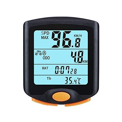 LQUIDE avec Affichage numérique LCD étanche Compteur kilométrique de vélo Compteur d'accessoires d'équitation Outil