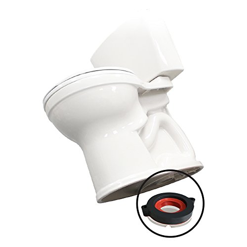 Korky 6000BP Universal Toilet WaxFree Seal with Hardware - Toilet Installation Made Easy - Made in USA
