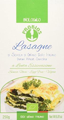 Probios Lasagne di Frumento Bianca - 12 confezioni da 250 gr