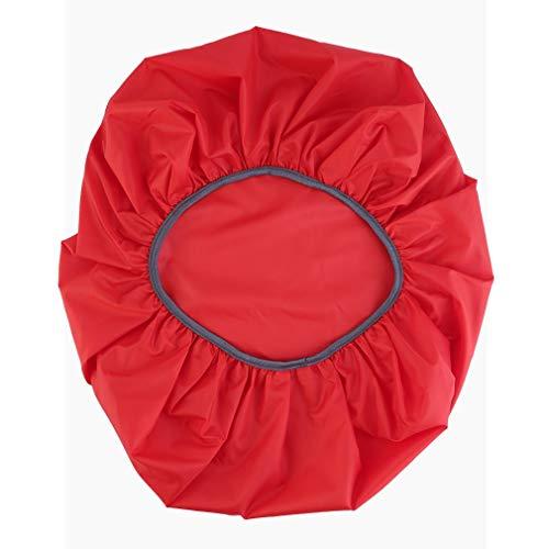 Mochila Impermeable de Viaje para Acampar, Mochila, Funda para Lluvia y Polvo, 30-40L, Funda para Bolsa (Rojo)