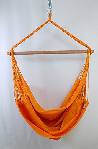 Hammock Life【ハンモックライフ】 ハンモック チェア スターターセット ブラジリアン 各色 (オレンジ)