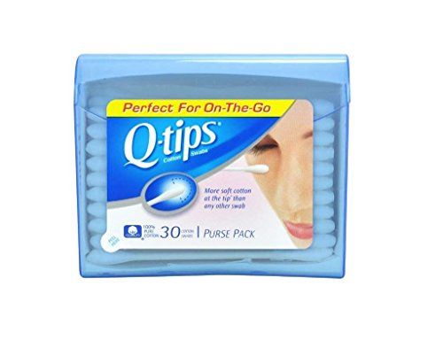 Price comparison product image Q,  Tips Cotton Swabs,  30 ct,  Travel Size Purse ct (Quantity of 5)