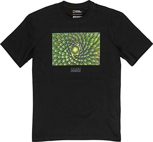 Element Uomo Maglietta Spiral Tee (Flint Black), Größe:S