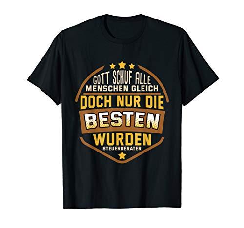 Herren Lustig Nur die besten wurden Steuerberater Spruch Buchhalter T-Shirt