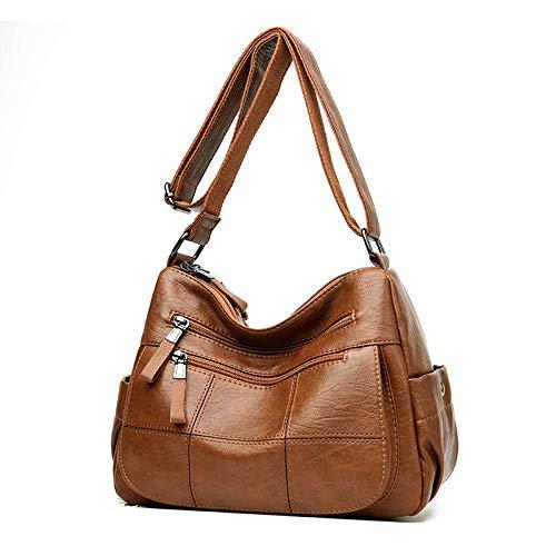ZHENBK Crossbody PU Leder Umhängetasche Umhängetaschen Täglicher Gebrauch Für Frauen Brieftasche Handtaschen Frauentasche Umhängetaschen Für Frauen -123