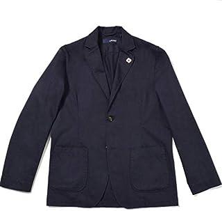 LARDINI【ラルディーニ】[春夏] シャツジャケット 2ボタン コットン ネイビー