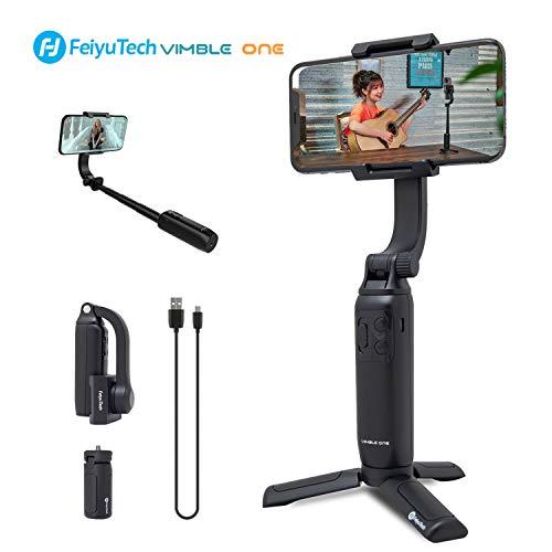 Vimble One Teleskop Selfie Stick mit Stativ Faltbares Taschenformat von FeiyuTech für iPhone Huawei P30 Pro, Xiaomi 9, Vivo NEX, Oppo Find X, Samsung Note9
