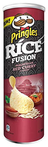 Pringles Malaysian Red Curry Rice Chips   Einzelpackung   180g