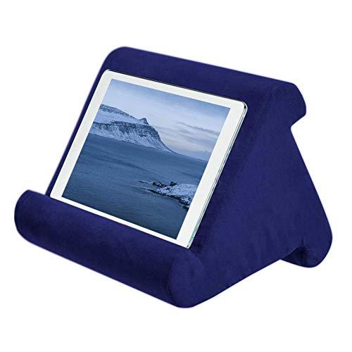 XIAODIANER Kussen Pad Multi-hoek Tablet Houder Beugel Gebruik voor bed, bank, auto, tafel, Compatibel met IPad/EReader/Boek/Telefoon