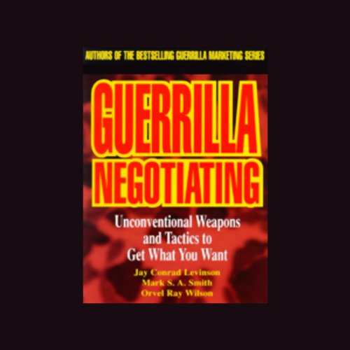 Guerrilla Negotiating audiobook cover art
