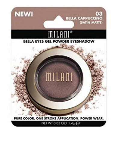Milani Cosmetics Bella Eyes Gel Powder Eyeshadow - Bella Charcoal