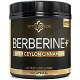 Berberine 1200mg HCL Plus Ceylon Cinnamon...
