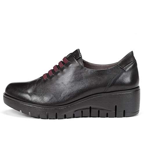 Zapato Abotinado Mujer Dorking-Fluchos - Piel Color