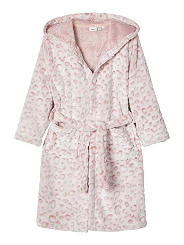 NAME IT NKFREETAH Bathrobe Bademantel Madchen Rosa (EU 116)