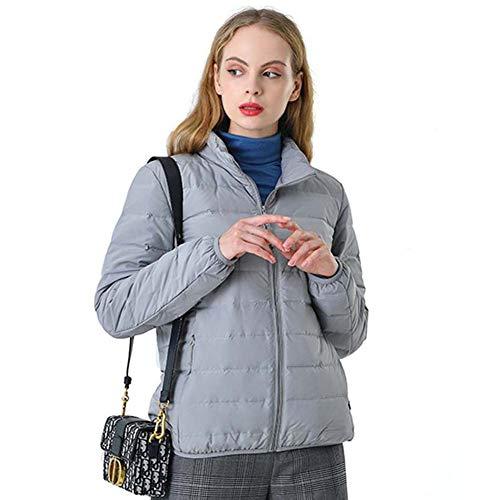 ELEAMO Dameswinterjack opvouwbaar waterdicht warm kan worden verpakt dames gewatteerde jassen vrije tijd duurzaam, niet geknoopt vrouwen winterjassen