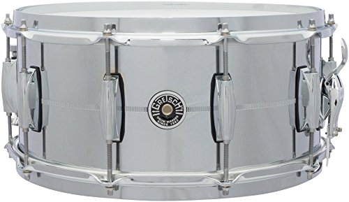 GRETSCH GB4164S - USA GB4000 14 X 6.5 STEEL (ACIER) Snare drums Wood snares