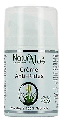 NaturAloe Crème anti rides Aloé Vera 50ml - BIO