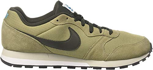 Nike MD Runner 2, Zapatillas de Running Hombre, Verde (Neutral Olive/Sequoia-light Blue Fury 201), 41 EU