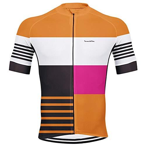 NHGFP QPM Jersey Jerseys De Ciclo Conjunto En Verano Ciclismo Desgaste del Juego Hombres Kit De Ropa Ropa De La Bici De La Bicicleta MTB De La Ropa De Ciclo (Color : Jersey 01, Size : L)