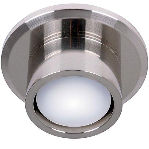 Beleuchtung CNC Airfusion für Deckenventilator von Lucci air, Chrom gebürstet, inkl. LED-Leuchtmittel GX53, 11 W
