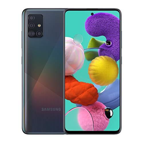 Samsung SM-A515FZKFATS A51 Smartphone, Black