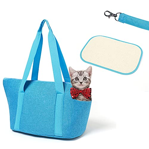 XINJI Pet Carrier Bag Travel Purse - for Dog and Cat Tote Shoulder Portable Outdoor Hiking, Walking Shopping Traveling Zip-up 15LBS
