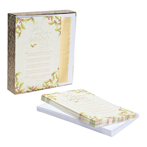 Christmas Boxed Cards - God Sent Us a Savior