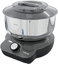 THRITOP Stand Mixer,Food Mixer with 5QT Mixing Bowl for Bread and Dough– 6 Speed Settings, 600 W New Concept Food Mixer(Elegant Grey)