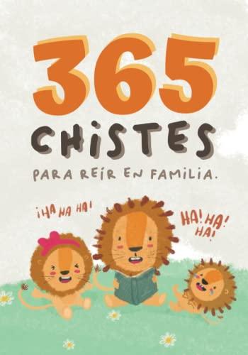 365 chistes infantiles. Chistes para leer en familia. Ideal para hacer un regalo original para niños. Letra de palo.: Un libro para reír en familia. ... y niñas. Un libro de chistes para todos