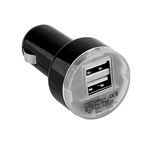YMHAN Adaptador del Cargador del Coche de energía Doble Puerto USB for 2 IPhone8 / 8plus 6S X for el iPod cámara vendedora Caliente