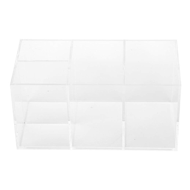 貯水池真実概要ポータブル 防水 ネイルアート 収納ボックス 美しいデスクトップネイルアートオーガナイザーボックス