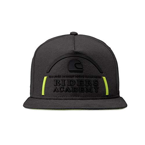 Valentino Rossi Logo-Vr46 Riders Academy, Adj cap Hombre, Lava, Un tamaño