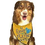 Osmykqe Pañuelo para Perros Bufanda para Mascotas Softbol Clásico Perrito Lindo para Mascotas Perros con pañuelo para pañuelos